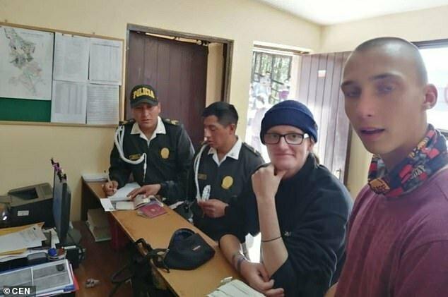Нарушителей доставили в полицейский участок