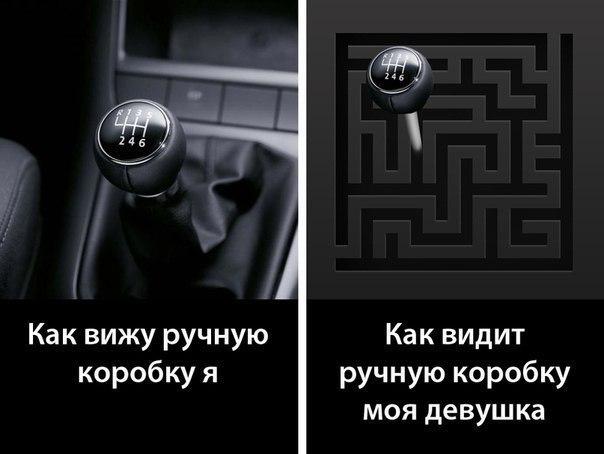 Только мужик разбирается в авто