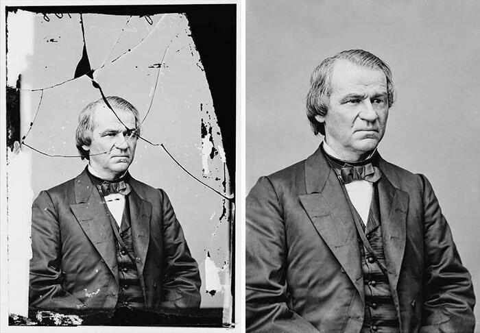 Эндрю Джонсон (декабрь 29, 1808 - июль 31, 1875), семнадцатый президент США