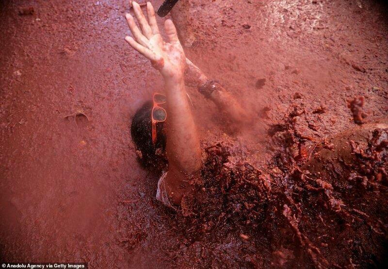 Испанский стыд, или как перевести тонны помидоров и превратить это в праздник