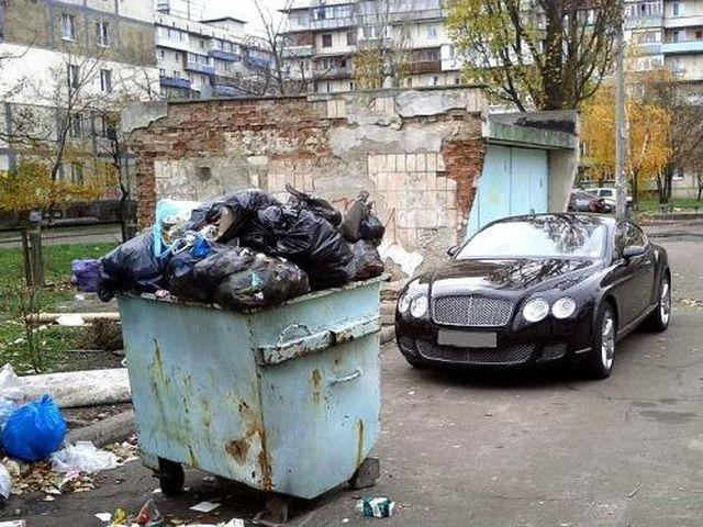 Выбрасываю мусор только на таком авто