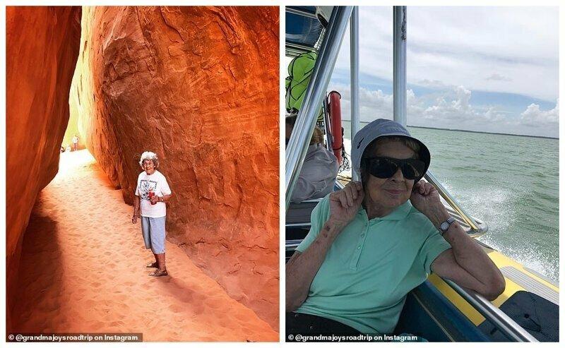 Слева - в национальном парке Арчес, Юта. Справа - путешествие к острову Бока Чита Ки, национальный парк Бискейн, Флорида