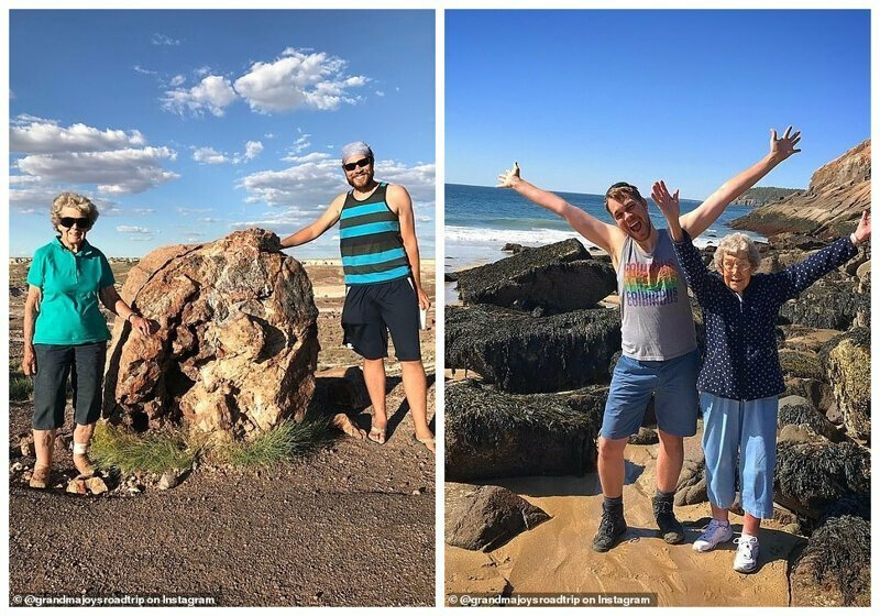 Слева - национальный парк Петрифайд-Форест, Аризона. Справа - национальный парк Акадия,Мэн