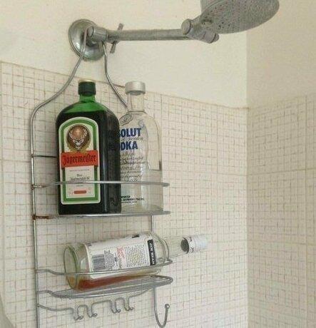 P.S. Ванная комната иногда используется в качестве бара