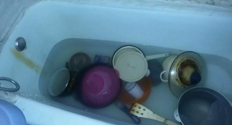 Грязная посуда и простое решение