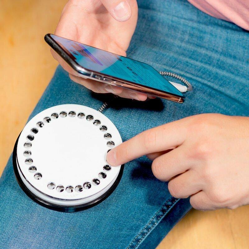 Круглый телефонный диск для набора смс RotarySMS™️
