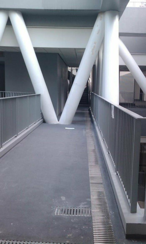 В коридорах школы дизайна