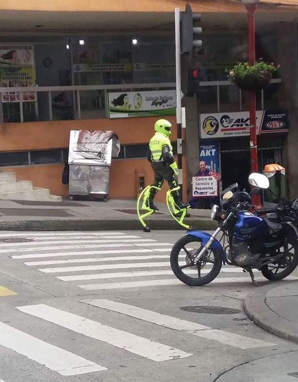 Это не полиция из будущего