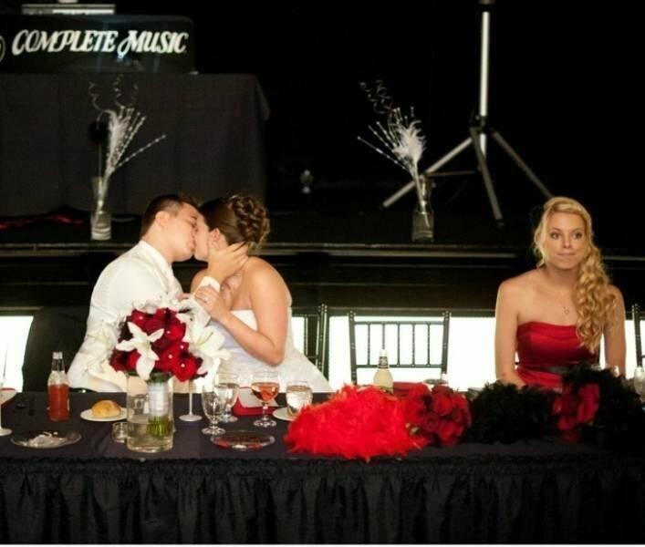 Когда невеста не ты, но было бы неплохо