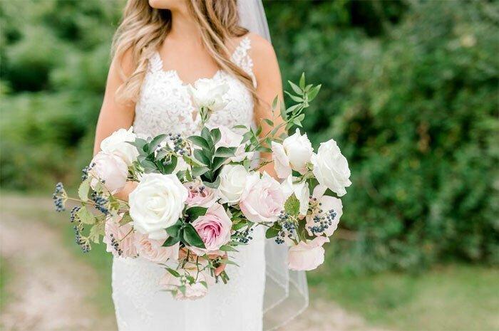 Фотограф Лоренда Беннетт снимала свадебную фотосессию, когда произошло нечто неожиданное