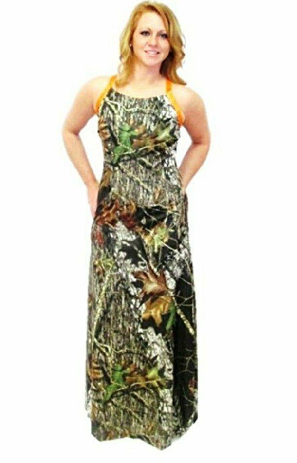 5. Камуфляжное платье для того, чтобы в нужный момент слиться с пейзажем. Крайне полезная вещь