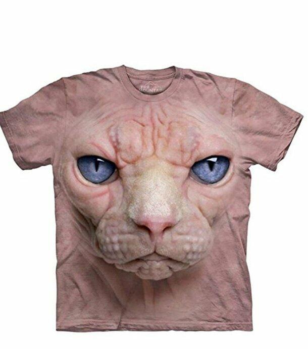 6. Это только для истинных ценителей лысых кошек. Всем остальным противопоказано