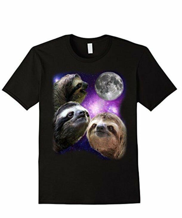 14. Любая футболка с ленивцами - это уже само по себе странно