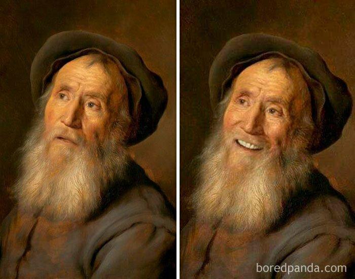 Бородатый мужчина в берете, Ян Ливенс