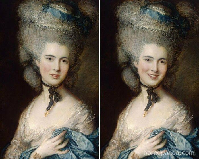 Дама в голубом, Томас Гейнсборо
