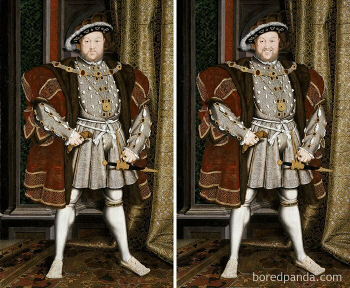 Генрих VIII, Хнс Хольбейн - младший