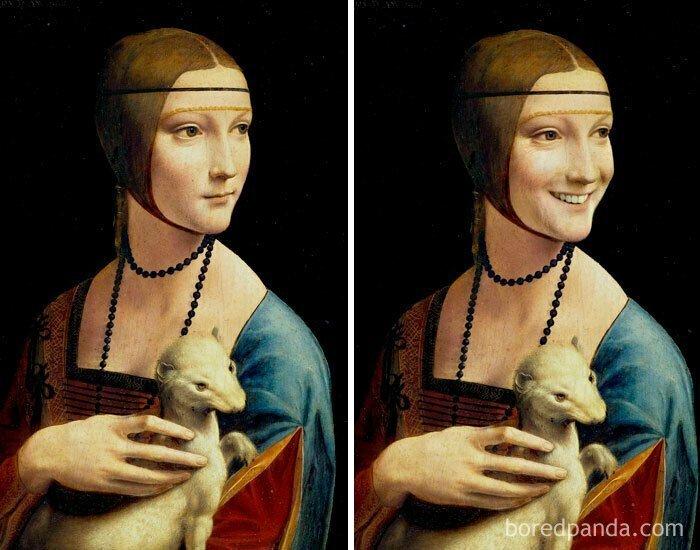 Дама с горностаем, Леонардо да Винчи