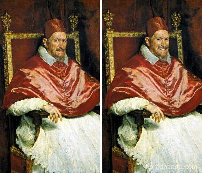 Портрет папы Иннокентия Х, Диего Веласкес