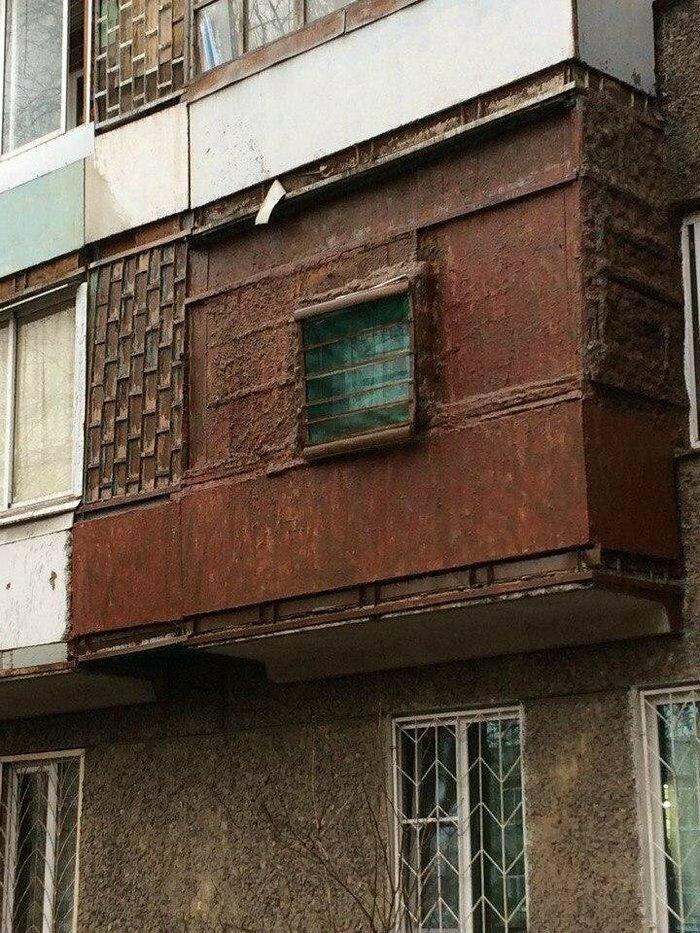 Когда балкон — это ещё и маленькая крепость