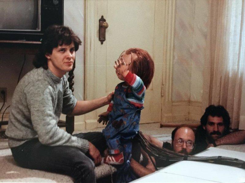 Фильмы ужасов за кадром не такие уж и страшные