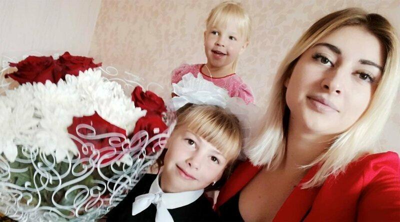 19-летняя россиянка стала мамой шестерых детей разного возраста