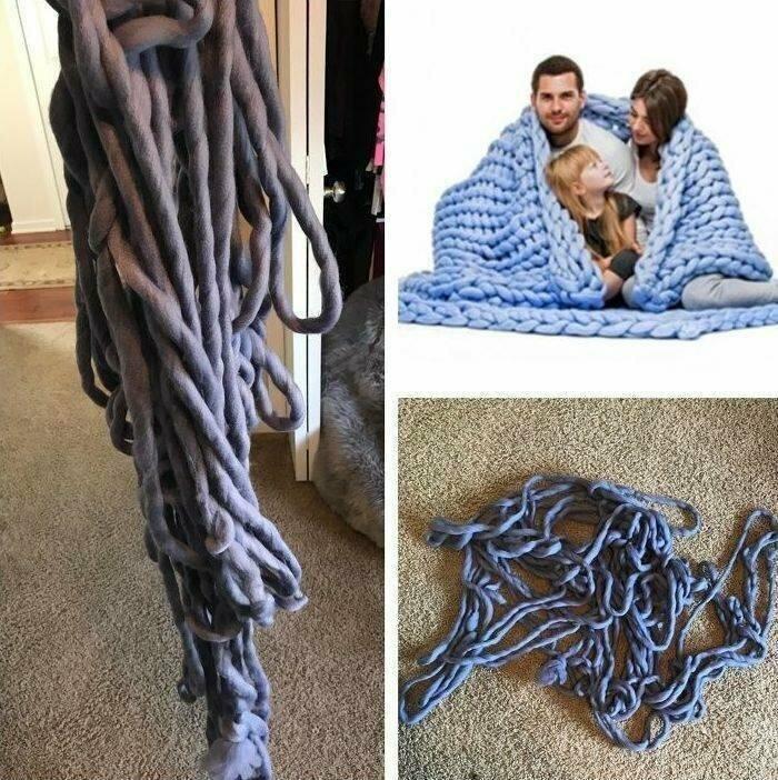 """""""Я не могла перестать смеяться, когда мне наконец доставили моё одеяло"""""""