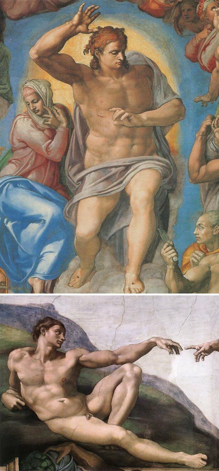 Если все голые, красивые и постоянно кучкуются — это Микеланджело