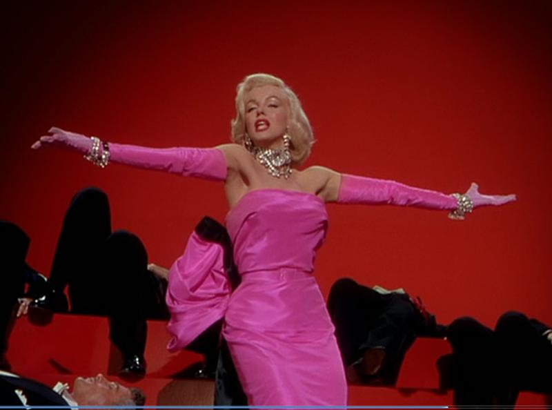 """Платье Мэрилин Монро из фильма """"Джентльмены предпочитают блондинок"""""""