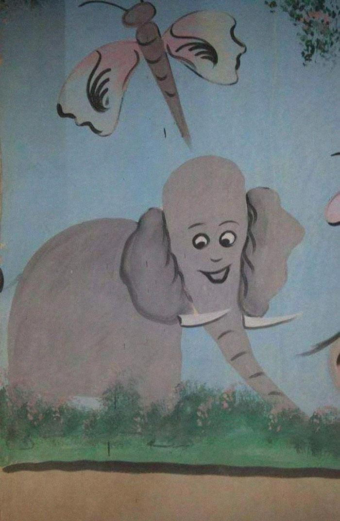 Когда хочешь нарисовать слона...