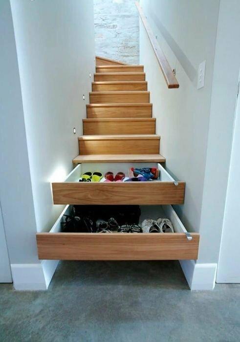 Кто собрался делать лестницу, подумайте об этой идее