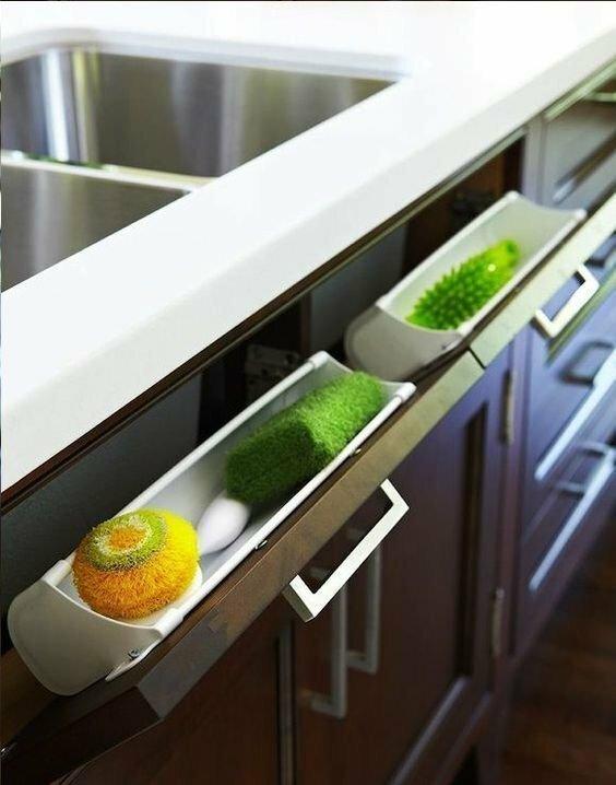 Для тех, кого раздражают губки и моющие средства на кухонной мойке