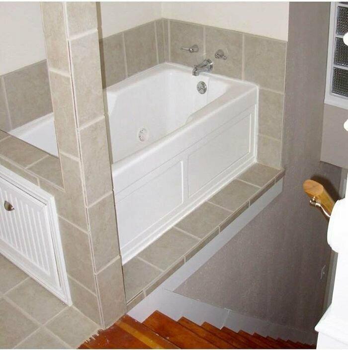 14. Из ванны сразу в подвал за полотенцем