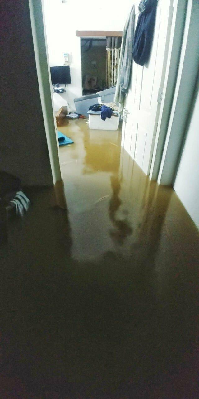 """4. """"Проснулся из-за того, что моя кровать, холодильник и вещи плавали по дому"""""""