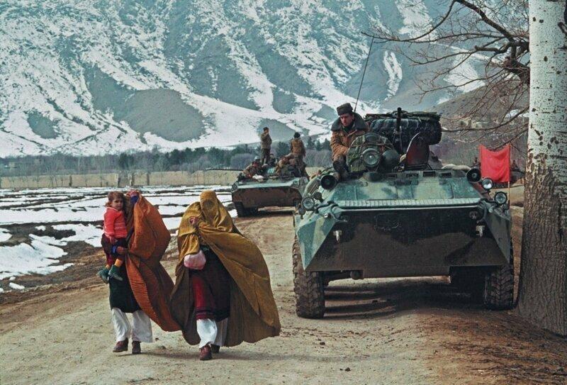 4. Фото из Афганистана, 1988 год