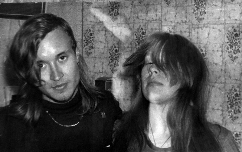 5. Егор Летов и Янка Дягилева в 1988 году