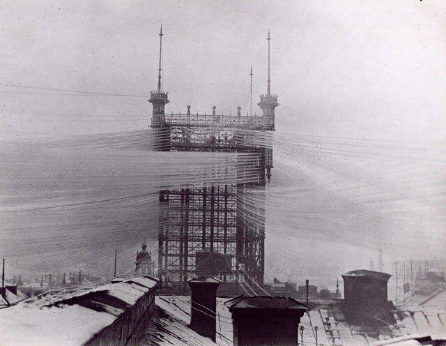 15. Телефонная башня в Стокгольме, 1890 год