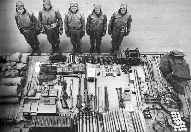 3. Тетрис от экипаж танка Шерман М4, 1943 год