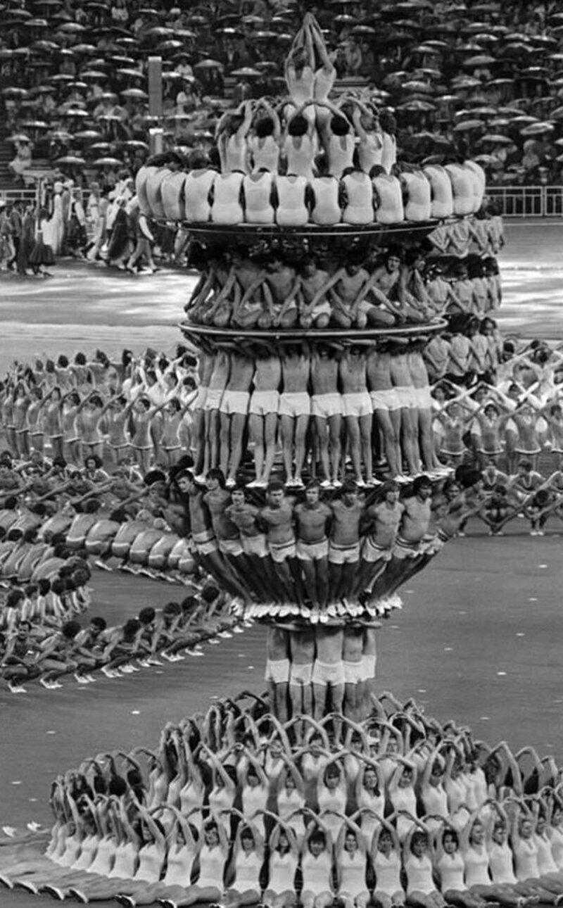18. Церемония открытия Олимпийских игр, 1980, Москва