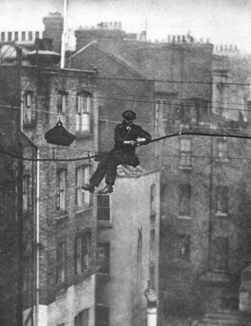 13. Телефонный инженер в Лондоне, 1925 год