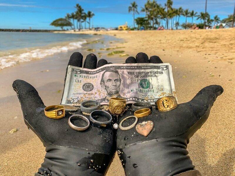 Улов на Гавайях