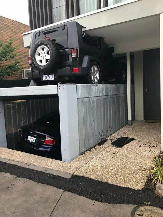 3. Проверка двухэтажного гаража