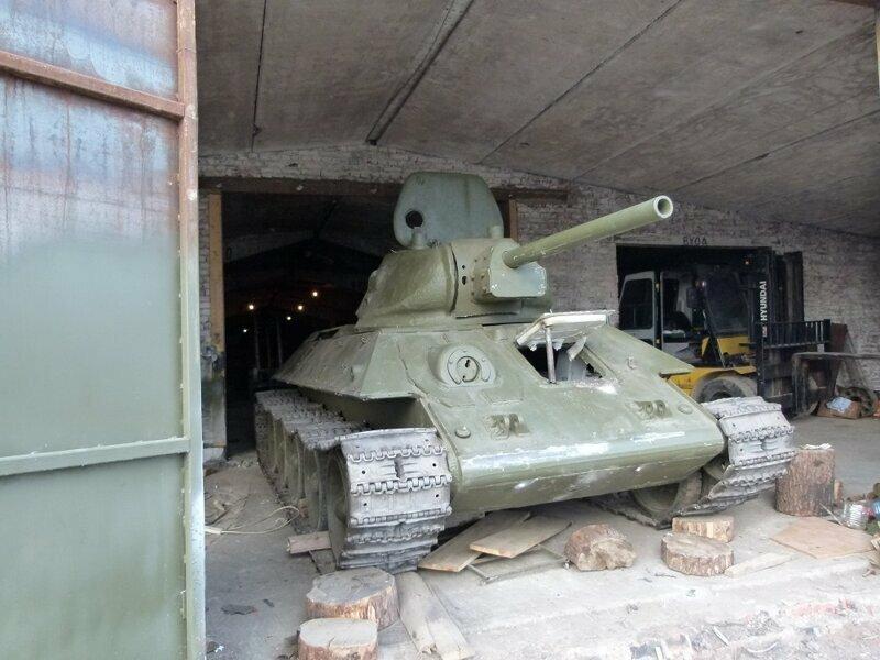 Вторая жизнь советского танка Т-34