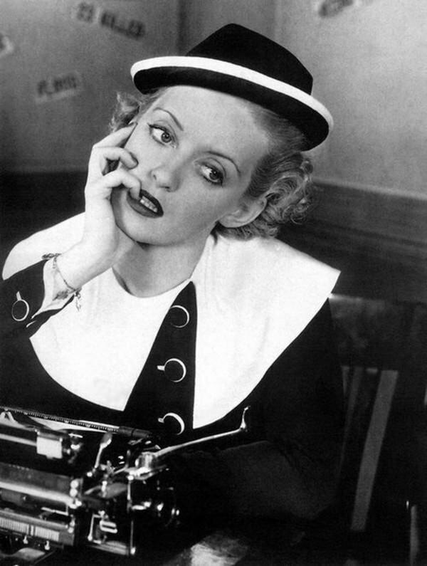 Американская актриса Бетт Дейвис. США. 1935 г