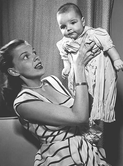Лайза Миннелли с мамой