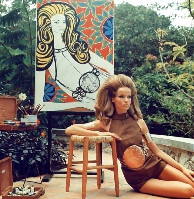 Графиня Вера Готлибе Анна фон Лендорф — более известная под псевдонимом Верушка. Немецкая модель и актриса, 1968