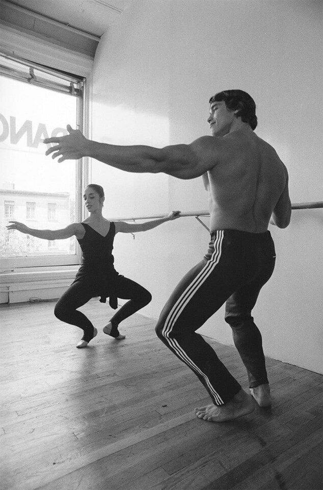Арнольд Шварценеггер и балет