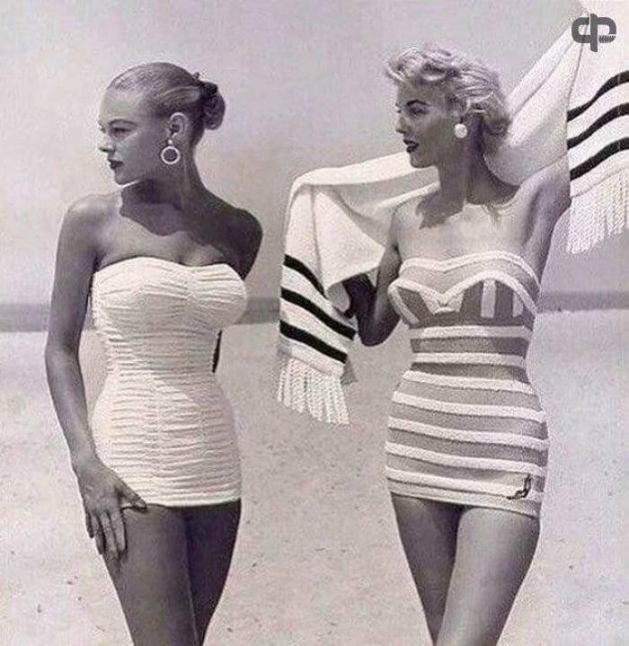 Купальники 1954 года.