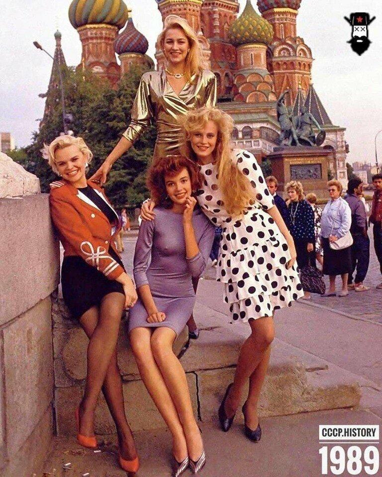 """Фотосессия """"Русские девушки"""" для журнала Playboy. СССР, Москва 1989г"""