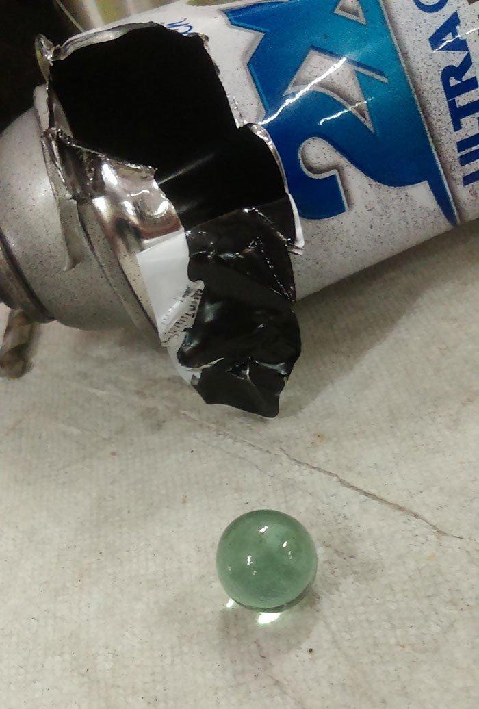 Тот самый шарик из баллончика с краской