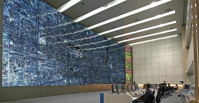 Центр регулирования дорожного движения в Пекине
